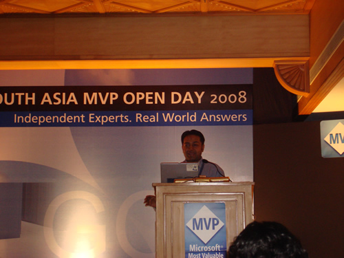 SQLAuthority News - Author Visit - South Asia MVP Open Day 2008 - Goa - Day 1 MVP Openday (8)