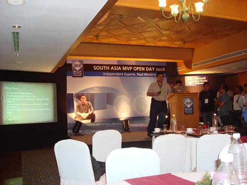 SQLAuthority News - Author Visit - South Asia MVP Open Day 2008 - Goa - Day 3 MVP Openday3 (4)