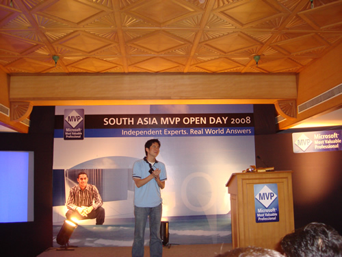 SQLAuthority News - Author Visit - South Asia MVP Open Day 2008 - Goa - Day 3 MVP Openday3 (6)