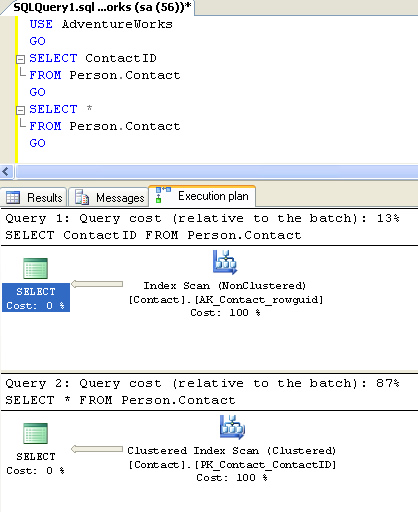 SQL SERVER - Interesting Observation about Order of Resultset without ORDER BY orderof