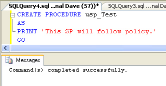 SQL SERVER - 2008 - Introduction to Policy Management - Enforcing Rules on SQL Server policy6