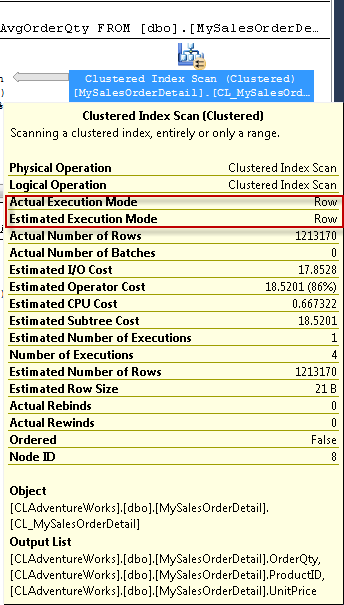 SQL SERVER - Identify Columnstore Index Usage from Execution Plan regularcolumn1