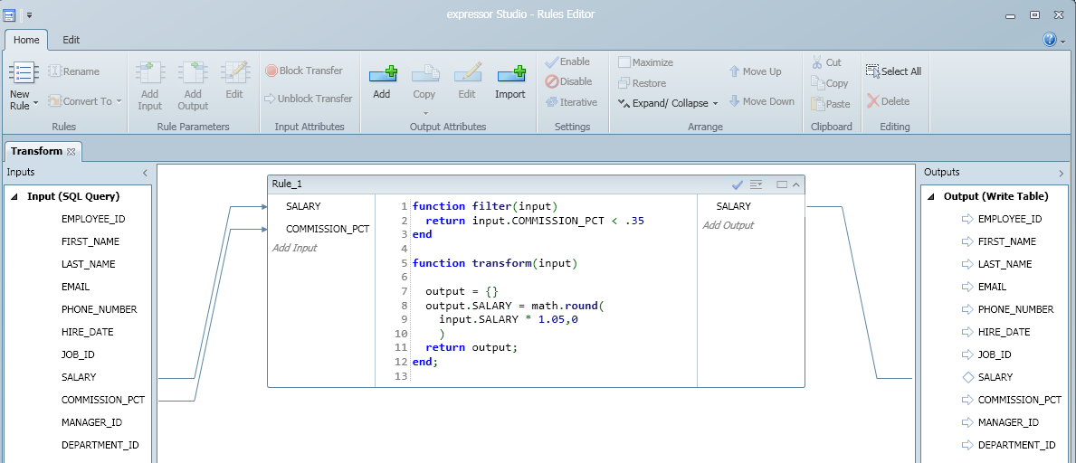 SQL SERVER - expressor Studio 3.4 Rules Editor - ETL Graphical Coding Tool ruleseditor5