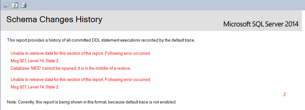 SQL SERVER - SSMS: Schema Change History Report schema-change-history-4