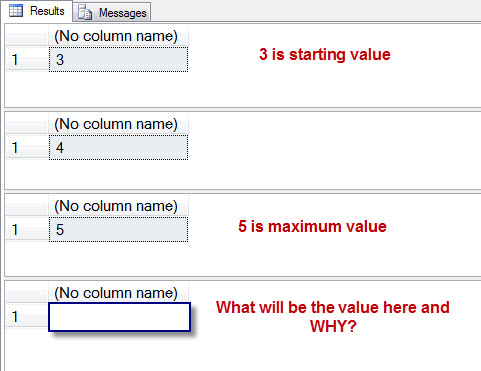SQL SERVER - A Puzzle Part 2 - Fun with SEQUENCE in SQL Server 2012 - Guess the Next Value seqpuz