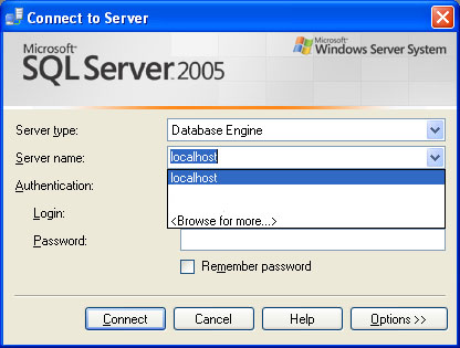SQL SERVER - Clear Drop Down List of Recent Connection From SQL Server Management Studio servernamelist