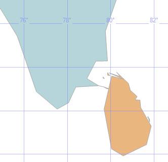 SQL SERVER - Finding Shortest Distance between Two Shapes using Spatial Data Classes - Ramsetu or Adam's Bridge spatial_4