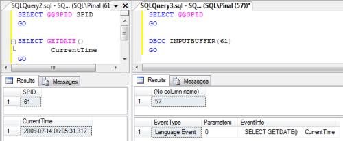 SQL SERVER - Get Last Running Query Based on SPID spid1