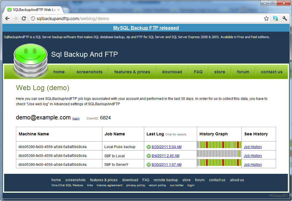SQL SERVER - SQL Backup and FTP - A Quick and Handy Tool image007
