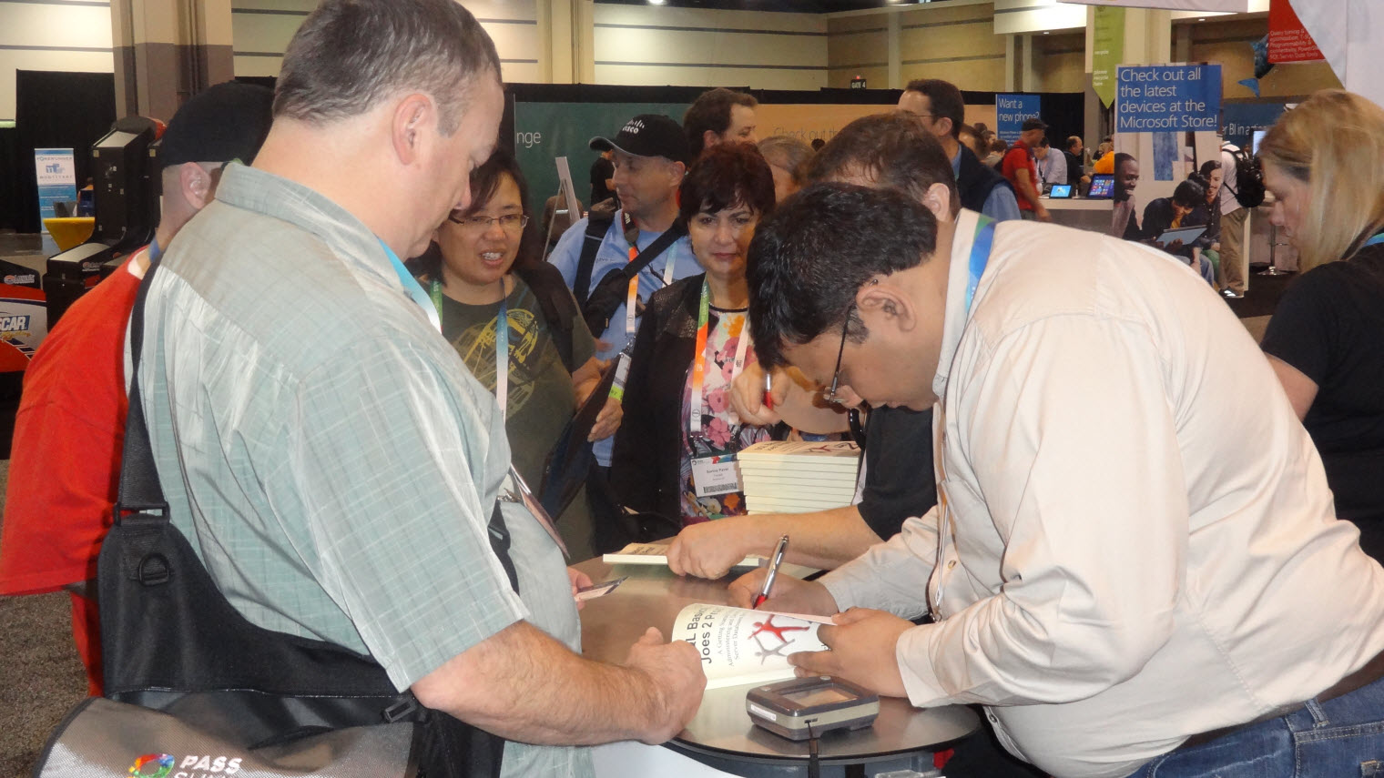 SQL SERVER - SQLPASS 2013, Charlotte Memories - Book and Book Signing - Part 2 sqlpass2013-book3