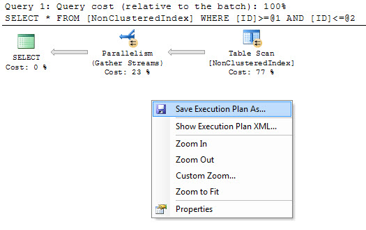 SQL SERVER - View XML Query Plans in SSMS as Graphical Execution Plan sqlplan1