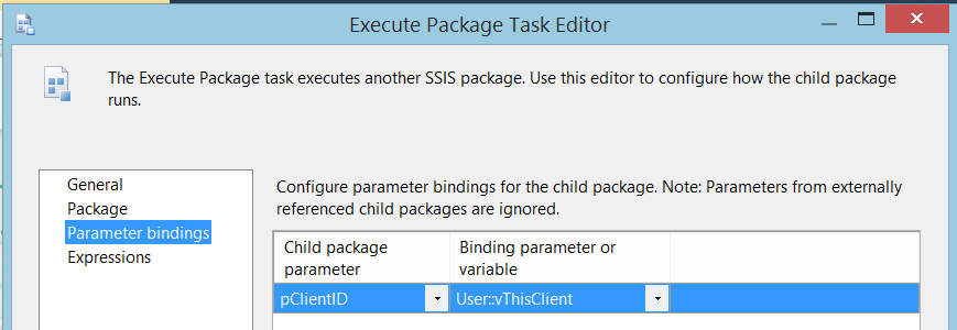 SQL SERVER - SSIS Parameters in Parent-Child ETL Architectures - Notes from the Field #040 ssarch2