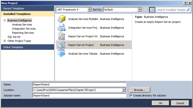 SQL SERVER - Create a Very First Report with the Report Wizard ssrs-4-1