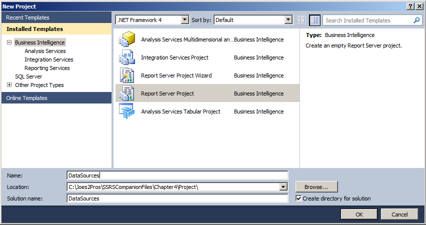 SQL SERVER - Data Sources and Data Sets in Reporting Services SSRS ssrs-5-3