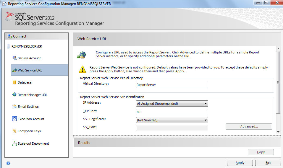 SQL SERVER - Installing SQL Server Data Tools and SSRS ssrs3-6