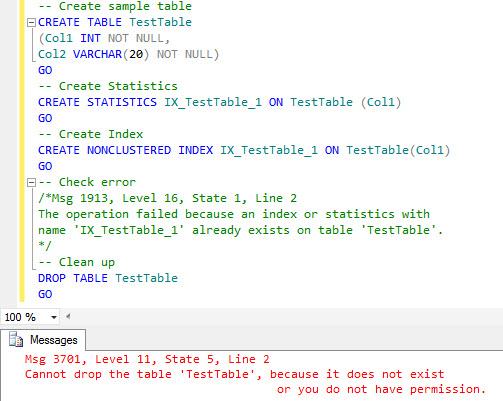 SQL SERVER - SQL Server Statistics Name and Index Creation statindex4