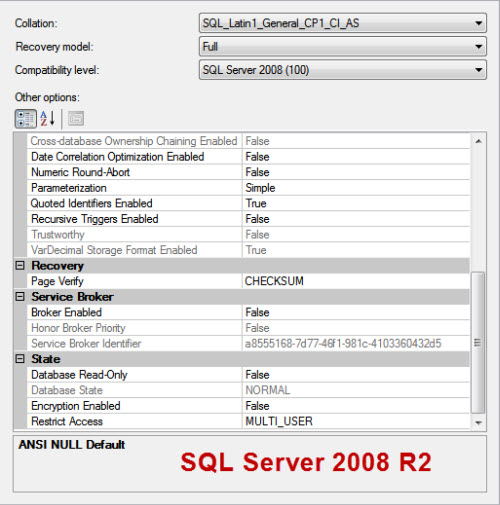 SQL SERVER - Target Recovery Time of a Database - Advance Option in SQL Server 2012 targetrecovery2008