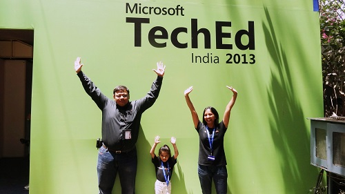 SQLAuthority News - Excellent Experience at TechEd India 2013 Bangalore and Pune - Photo Journey 12