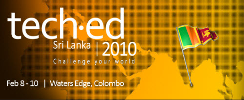 SQLAuthority News - Presenting Two Sessions at TechED Sri Lanka techsl