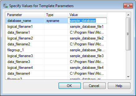 SQL SERVER - Template Browser - A Very Important and Useful Feature of SSMS template14
