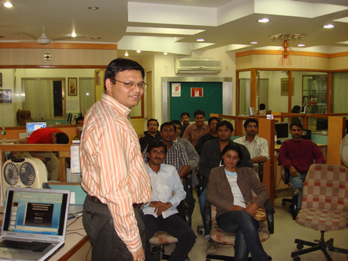 SQLAuthority Author Visit - Ahmedabad SQL Server User Group Meeting - November 2008 UGnov5