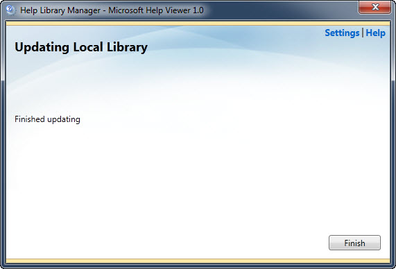 SQL SERVER - Manage Help Settings - CTRL + ALT + F1 updatehelp3
