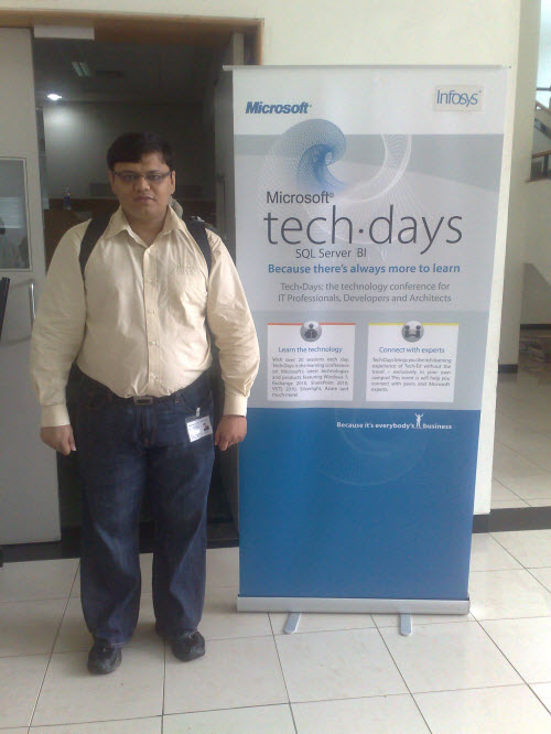 SQLAuthority News - Notes from TechDays 2009 at Infosys, Bangalore infosys3