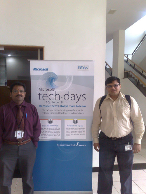 SQLAuthority News - Notes from TechDays 2009 at Infosys, Bangalore infosys4