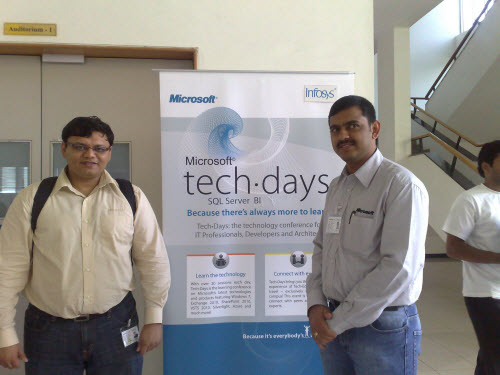 SQLAuthority News - Notes from TechDays 2009 at Infosys, Bangalore infosys7