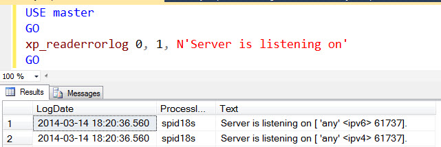 SQL SERVER - Find Port SQL Server is Listening - Port SQL Server is Running xpport