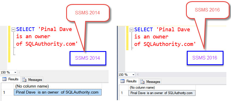 SQL SERVER - Maintain Carriage Return (Enter Key) in SQL Server 2016 Management Studio While Copy and Paste CRLF-12