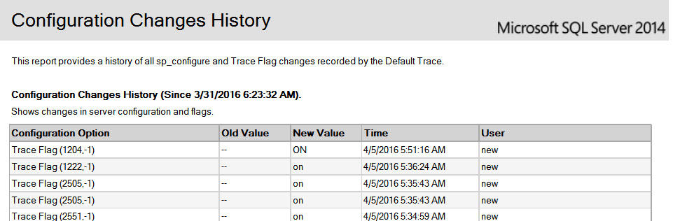 SQL SERVER – What is DBCC TRACEON and DBCC TRACEOFF messages in ERRORLOG?