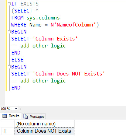 SQL SERVER - Validating Unique Column Name Across Whole Database unique-column-name1
