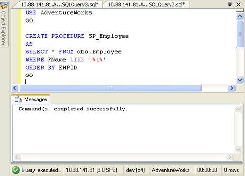 sp_createprocedure