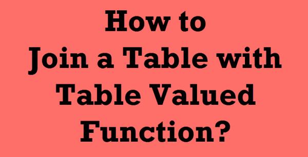 tablevaluedfunctions