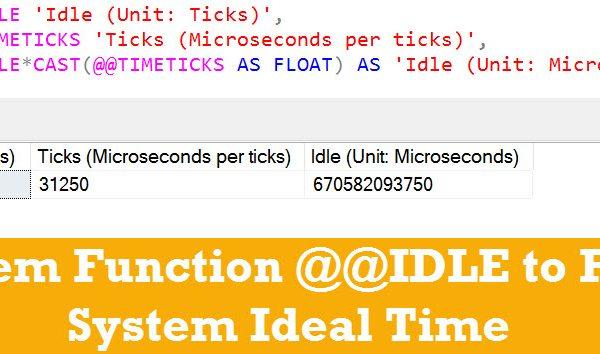 idel-timeticks