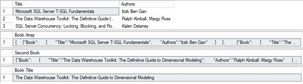 SQL SERVER - JSON Support for Transmitting Data for SQL Server 2016 - Notes from the Field #114 114