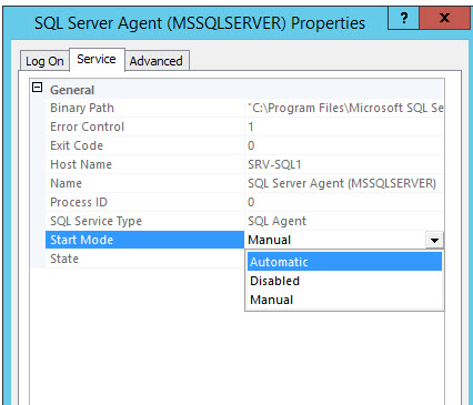 SQL SERVER - FIX: SQLServerAgent is not currently running so it cannot be notified of this action. (Microsoft SQL Server, Error: 22022) Agent-Not-Running-04
