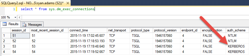 SQL SERVER - Could Not Register Service Principal Name Persists - Notes from the Field #105 Kerb Connection
