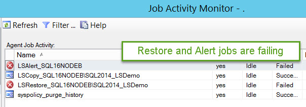 SQL SERVER - Log Shipping Restore Job Error: The file is too recent to apply to the secondary database LS-Restore-01