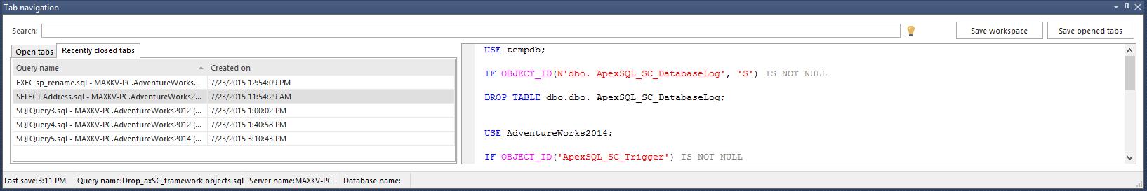 SQL SERVER - Free SQL Complete Add-in For SSMS addin14