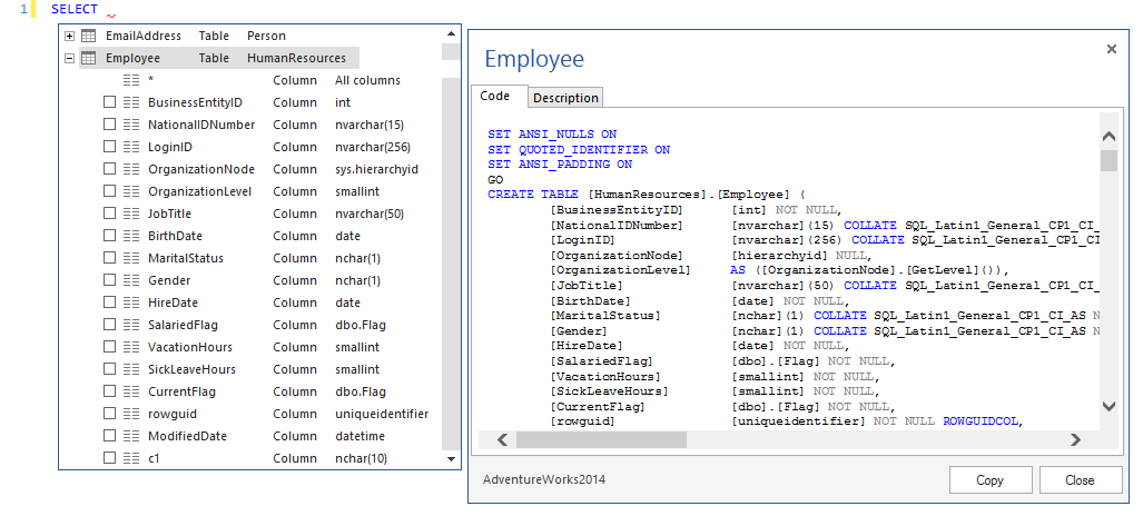 SQL SERVER - Free SQL Complete Add-in For SSMS addin4