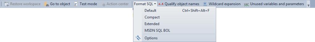 SQL SERVER - Free SQL Server Formatting Add-in image002