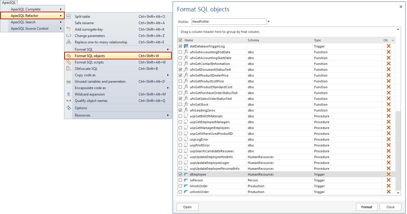 SQL SERVER - Free SQL Server Formatting Add-in image024