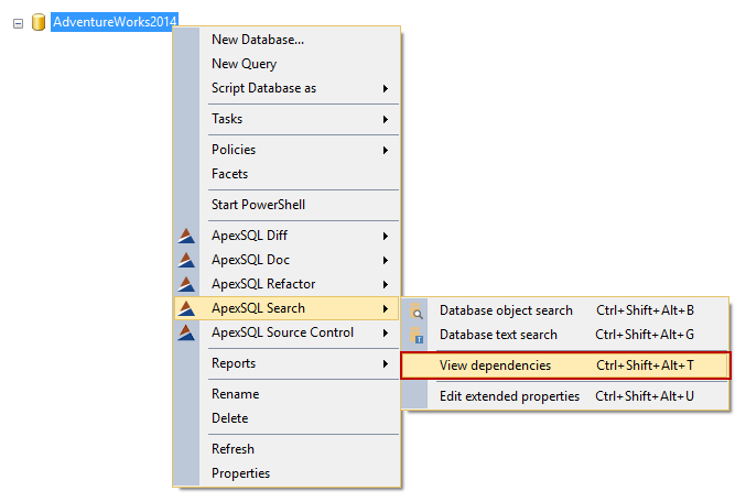 SQL SERVER - Free Database Search and Dependency Analysis 8