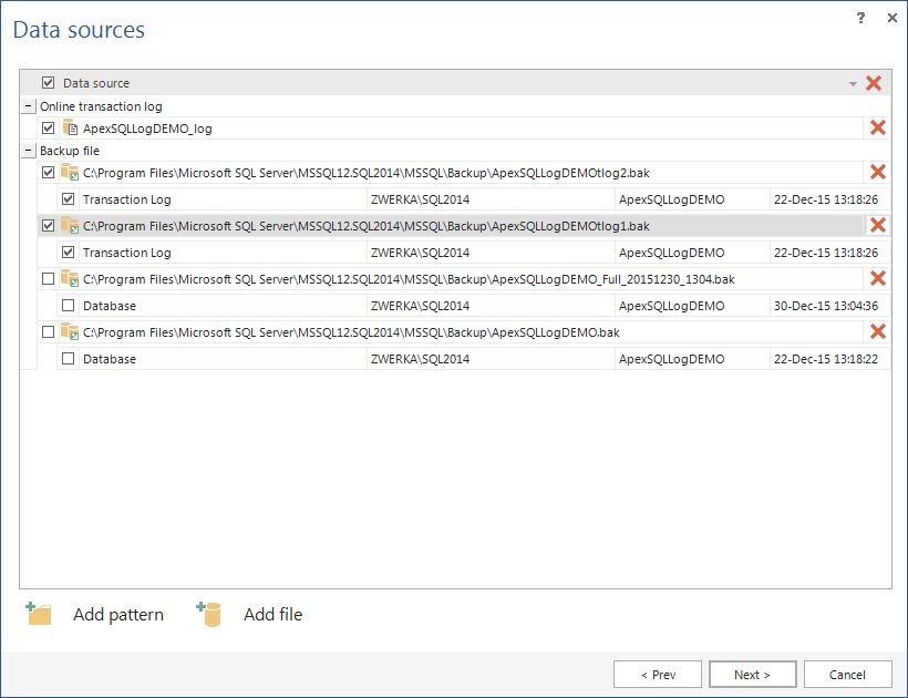 SQL Server Auditing and Recovery With ApexSQL Log 2016 apexsqllog2