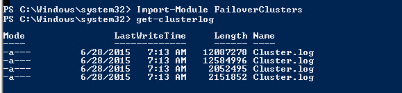 SQL SERVER - Steps to Generate Windows Cluster Log? cluster.log-04