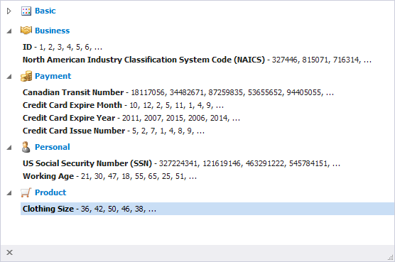 SQL SERVER - Generating Meaningful Test Data with dbForge Data Generator for SQL Server dbforge-4