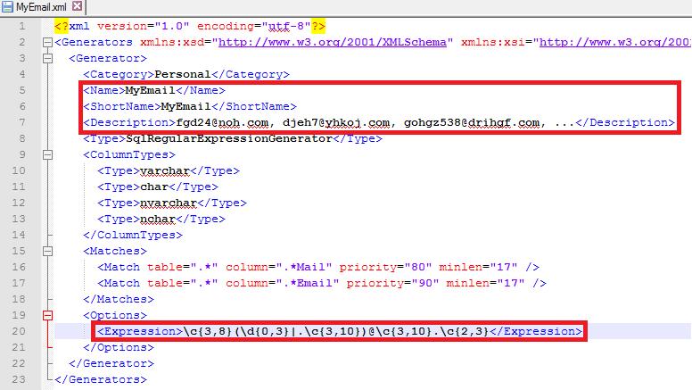SQL SERVER - Generating Meaningful Test Data with dbForge Data Generator for SQL Server dbforge-6