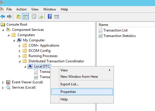 SQL SERVER - FIX: Msg 7395, Level 16, State 2 - Unable to start a nested transaction for OLE DB provider dtc-01